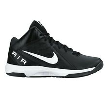 Nike Air Overplay IX MEN'S BASKETBALL SHOES, BLACK/WHITE- Size US 7, 8, 8.5 Or 9