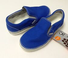 Crocs Hover Slip-on Sneak Kids Boys Sea Blue / Grey C9 C10 C11 C12 C13 J1 2 3 4