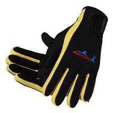 100% New Sports Outdoor Fishing Gloves Neoprene Fishing Finger Protector Yellow