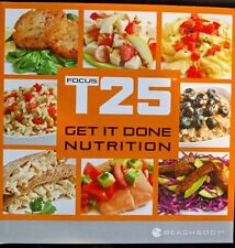 Focus T25: Nutrition Guide / Calendar / 5 Day Fast Track ~ Free Shipping