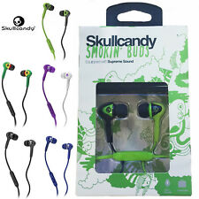 Skullcandy New SMOKLN' BUDS in-ear with Mic Supreme Sound Headphones Earphones