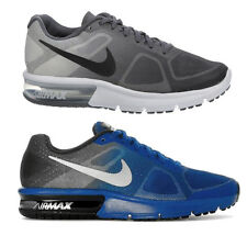 NIKE AIRMAX SEQUENT TRAINERS BLACK, BLUE, UK SIZES 3 TO 6 EU 36 TO 40 FROM
