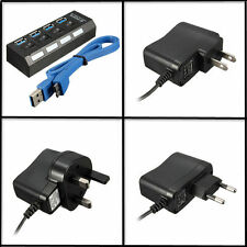 Usb 0 3 Hub 4 Port Pc Laptop Adapter Speed Power Cable Off 5gbps High Switches
