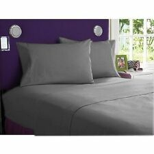 Hotel Bedding Collection Duvet/Fitted/Flat1000TC Egyptian Cotton Elephant grey*