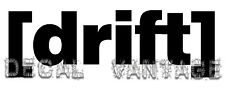 Drift Text Style B Vinyl Sticker Decal Race Boost Stance JDM Choose Size & Color