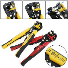 2017-Automatic Wire Cutter Stripper Plier Electrical Cable Crimper Terminal Tool