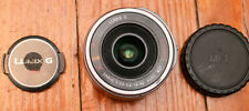 Panasonic Lumix G 14-42mm 3.5-5.6 Vario X Power OIS zoom MTF M43 lens- EXC GLASS