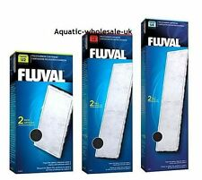 Fluval Aquarium Internal Filter U2 U3 U4 Poly Carbon Cartridge GENUINE PARTS
