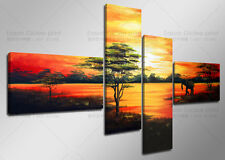 HUGE MODERN ABSTRACT OIL PAINTING PRINT ON CANVAS HOME DECOR WALL ART PICTURE