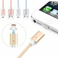 2-in-1 Magnetic 8pin Micro USB Charging Cable adapter for iPhone 6 7 Samsung LG