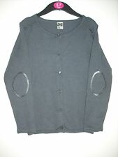 BNWOT Tape a L'oeil. Girls Grey Light Weight Cardigan. Age 6-13 Years