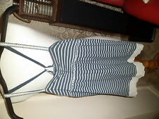 ********SUPERDRY VINTAGE THRIFT BLUE STRIPE CAMISOLE TOP SMALL*********