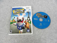 Wii Rayman Raving Rabbids 2 and Rayman Raving Rabbids TV Party