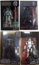 "New Star wars the Black Series 6"" Boba Fett Darth Maul Darth Vader Action"