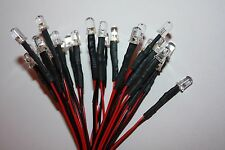 10x 5mm LED round Pre-Wired 60cm LEDs Resistor 5mm