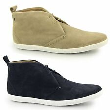 Base London ROADIE Mens Suede Comfort Lace Up Ankle Casual Chukka Desert Boots