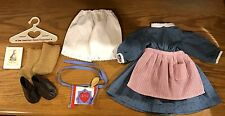Pleasant Company American Girl Kirsten Meet Outfit 1994, Dress,Apron,Boots,Socks