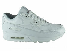 NEW MENS NIKE AIR MAX 90 RUNNING SHOES TRAINERS WHITE