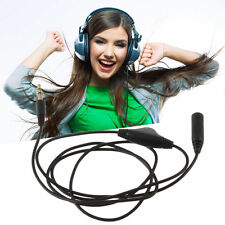 3M 3.5mm M/F Stereo Audio Headphone Aux Extension Cord Cable With Volume Control