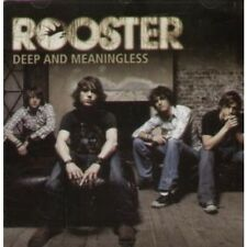 ROOSTER Deep And Meaningless CD European Brightside 2005 3 Track Enhanced Disc