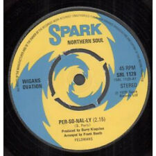"""WIGANS OVATION Per-So-Nal-Ly 7"""" VINYL UK Spark 1975 4 Prong Label Design B/W Be"""