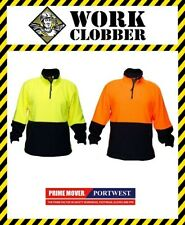 Prime Mover Hi Vis Two Tone Polar Fleece Jumper HV115 NEW WITH TAGS!