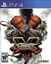 Street Fighter V  PS4 Brand New Factory Sealed Playstation 4 Game