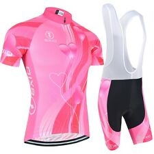 New Hot Top Quality Cycling Sets Women's Short Sleeve Clothing Pro Team Bicycle