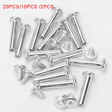 "2/10/20pcs Inline Skate Wheel 15/64"" Shaft Hex Socket Screw Practical"