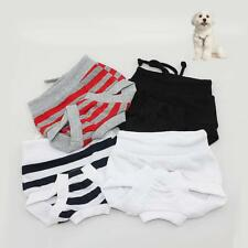 Female Pet Dog Puppy Pants Bitch Season Menstrual Sanitary Nappy Diaper XS-XL