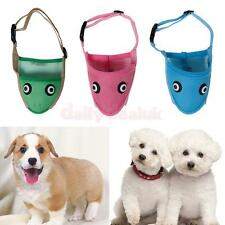 Pet Dog Adjustable Mask Bark Bite Mouth Mask Muzzle Grooming Anti Stop Chewing