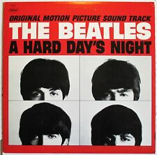 THE BEATLES - A HARD DAY'S NIGHT LP 1979 CAPITOL SW-11921 (PURPLE LABEL)