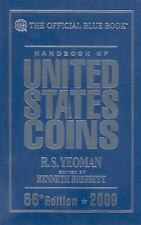NEW WHITMAN OFFICIAL BLUE BOOK UNITED STATES COINS 2009 - US PRICES - HARDCOVER