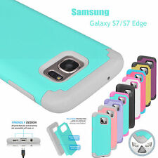 For Samsung Galaxy S7 Edge TPU Shockproof Hybrid Hard Rugged Rubber Cover Case