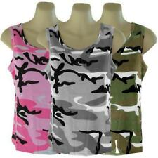 Womans Camouflage Tank Top
