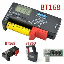 AA AAA C D 9V 1.5V Universal Button Cell Battery Volt Tester Checker Indicato OO