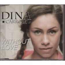 DINA CARROLL Without Love CD European Manifesto 1999 1 Track Dave Sears Radio