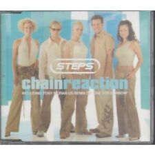 STEPS (POP GROUP) Chain Reaction CD UK Jive 2001 3 Track B/W One For Sorrow