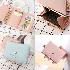 Zipper 1Pcs Fashion  Purse Lovely Coin Colorful  Cute Card  Solid Golden Wallet