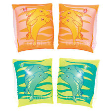 Children Kids Swimming Arm Bands Inflatable Swim Float Armbands Pool Beach Learn