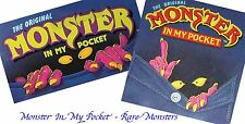 Monster in my Pocket - Series 1 and 2 - Mini Figure MIMP Matchbox MEG - Rare