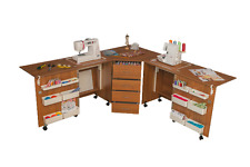 Sewing Machine Table Cabinet Comfort 6 Hobby Desk