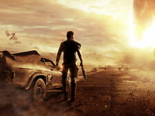 Mad Max Video Game HUGE GIANT PRINT POSTER