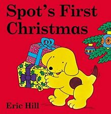 Spots First Christmas Board Book (Coloured Cover) (Spot flap books), Hill, Eric,