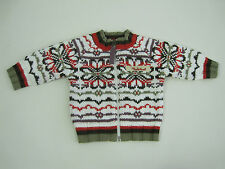 Timberland Baby Boys Zip Up Cardigan size 1 month 6 months 6 months Colour Multi