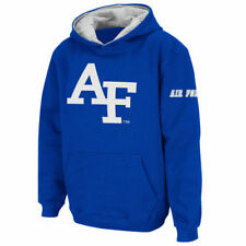 Stadium Athletic Air Force Falcons Youth Royal Big Logo Pullover Hoodie