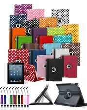 For Amazon Kindle Fire 7 (2015) 5th Gen - 360 Rotating Folio Case & Mini Pen