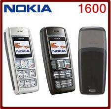 Nokia 1600 Mobile Dualband GSM Cell Phone Cheap Original GSM 900/1800