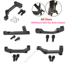 All Sizes MTB Bicycle Bike Disc Brake Mount Adaptor for Front Caliper PM to IS