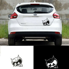 Surprised Cat Reflective Tape Waterproof Car Decals Vinyl Stickers Funny Sticker